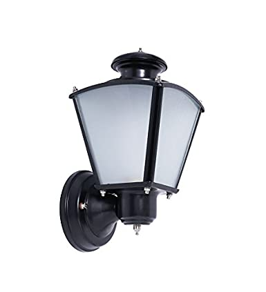Fos Lighting Classic Black Small Outdoor Wall Light