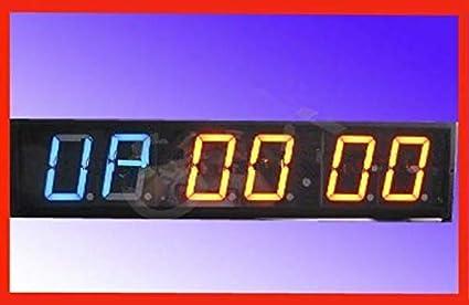 GOWE 10,16 cm 6digits led reloj digital crossfit gimnasio intervalo tiempo práctica