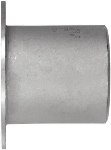 Stainless Steel 304/304L Pipe Fitting, Type C MSS Stub End, Butt-Weld, Schedule 10, 12'' Pipe Size by Merit Brass (Image #2)'