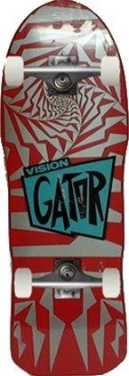 Vision Skateboards Complete Gator II Silver