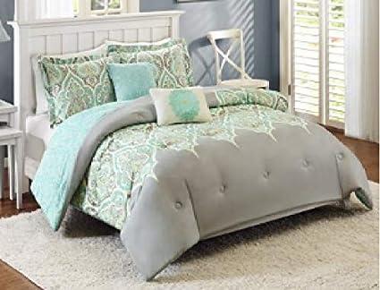 Amazon Com Better Homes And Gardens Kashmir 5 Piece Bedding