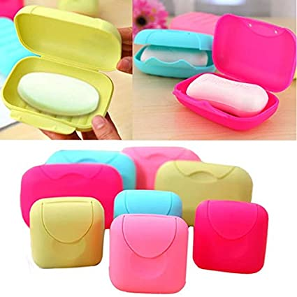 0385b0481bc1 Amazon.com: Travel Soap Case Box, Holder with Strong Sealing ...