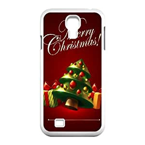 DIY Merry Christmas Theme Phone Case Fit To Samsung Galaxy S4 I9500 , A Good Gift To Your Family And Friends