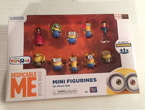 Despicable Me Minions Movie Minions Mini Figurines 10-Piece Set Exclusive 2