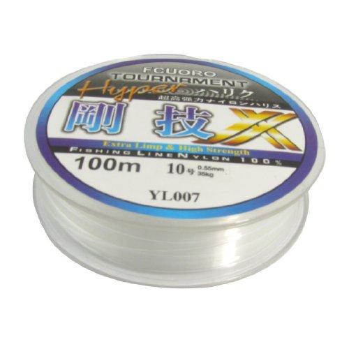 TOOGOO(R) 10# 0.55mm Diameter 100M Thread 35Kg 77.1lb Fishing Line Spool