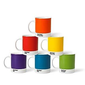 Pantone coffee cup set porcelain