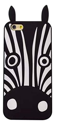 b67ebbc5c4 Fitted Cases - New Cute Cartoon Animal Design Cover 3D Dog 3D Zebra Soft  Silicone Phone Cases for iPhone 4 4S 5 5S 5 SE/iPhone 6 6S 7 7S 8 Plus - by  ...