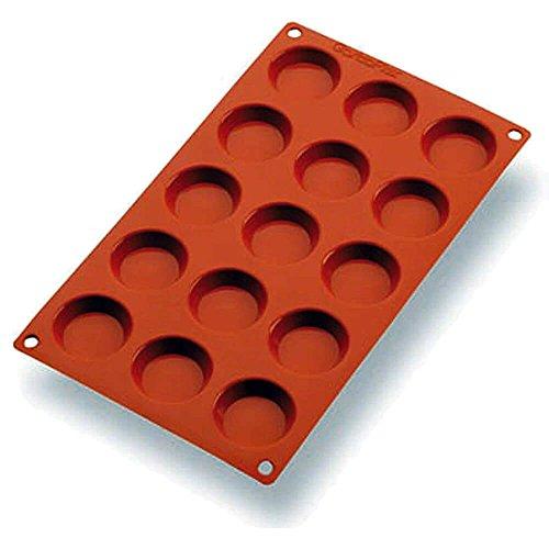 Matfer Bourgeat Silicone Gastroflex Mini Tartlet Baking Mold Orange 257922