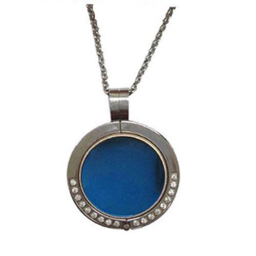 Kingfansion Necklace Stainless Steel Diamond Pendant Sleep Fitness For Misfit Shine