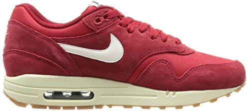 Men's Nike Air Max 1 Essential Running Shoes - 537383 611 Gym Red/Sail/Black/Black buy cheap geniue stockist best seller sale online lElwO6