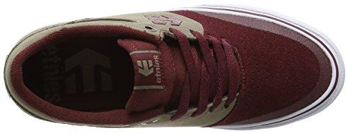 Etnies MARANA VULC - Zapatillas De Skate de cuero hombre Burgundy-Brown