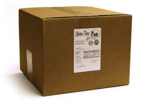 GF Harvest Gluten Free Rolled Oats, 25 Pound