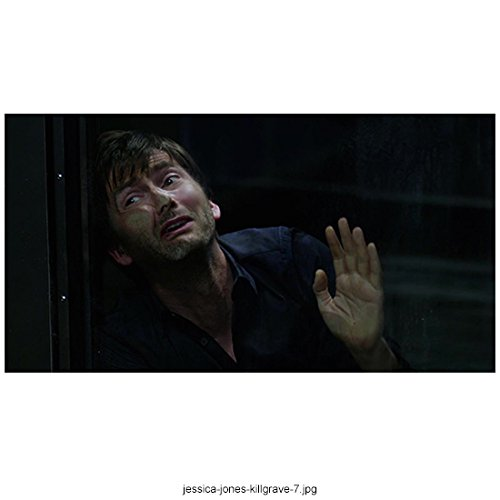 - Jessica Jones David Tennant as Kilgrave Face Pressed Hand Raised 8 x 10 Inch Photo