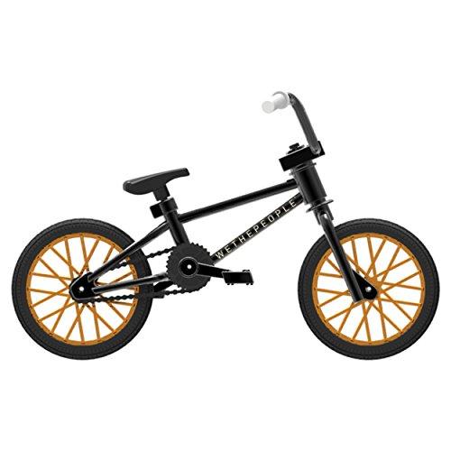 Tech Deck - BMX Finger Bike – WeThePeople – Black/Gold – Series 6 (Deck Tricks Tech)