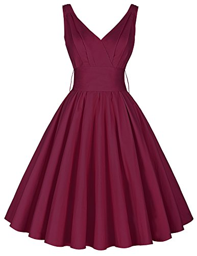 buy 1950s cocktail dress - 7