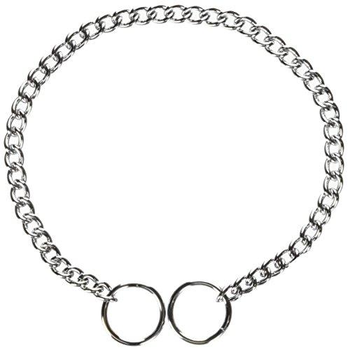 Hamilton Fine Choke Chain Dog Collar, 14-Inch