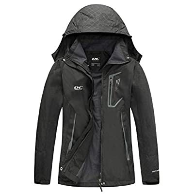 Amazon.com : Diamond Candy Women Windproof Hooded Waterproof Rain Jacket Lightweight for Hiking : Clothing