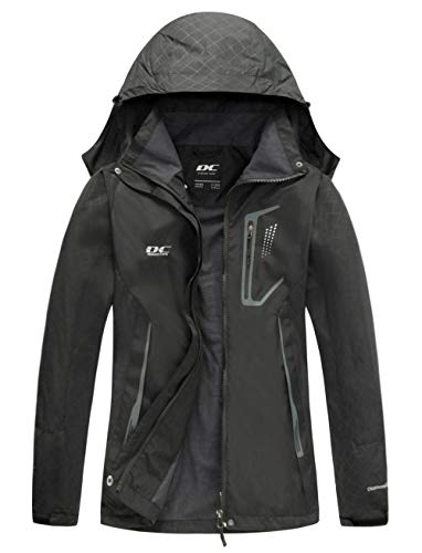 Letterman Jacket Sale (Diamond Candy Women Windproof Hooded Ski Waterproof Rain Jacket Lightweight for Hiking)