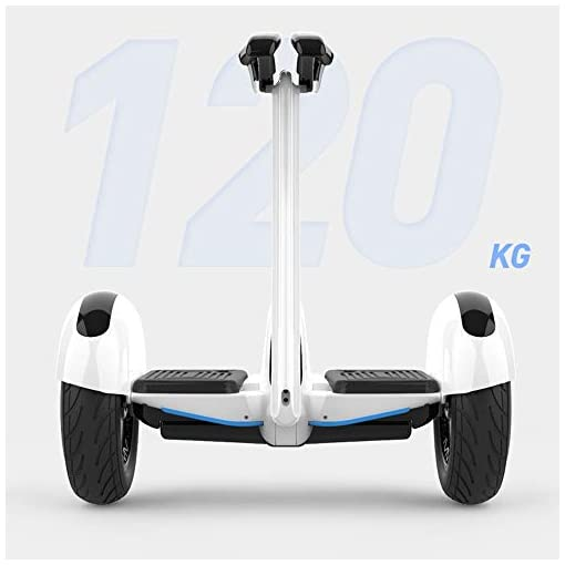 QINGMM Hoverboard, Allterrain Roues Électriques Intelligents Auto Équilibrage Scooter avec Bluetooth Haut-Parleur Et Lumières LED, pour Adultes Et Enfants