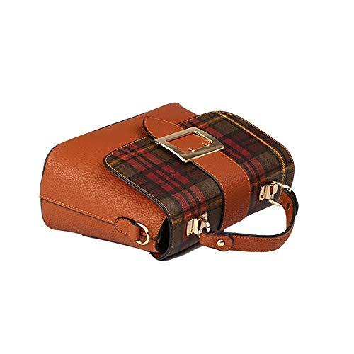 a La Main 01 Bag Anlei Messenger 11 Sac Pu 5 Cwl Femmes Couleurs Mode À Rétro 26 156 Bandoulière 20cm wqF84EIF