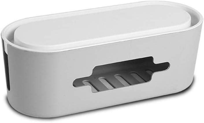 YANQIN Caja para Cables -Caja para Esconder Cables -Organizador para Regletas De Enchufes - Caja De Cables PláStico PP 32 * 13 * 11,5 Cm: Amazon.es: Hogar