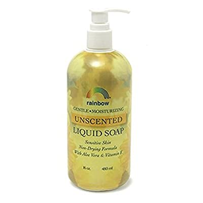 Rainbow Research Liquid Soap, Gentle Nondrying Unscented, 16 Fluid Ounce