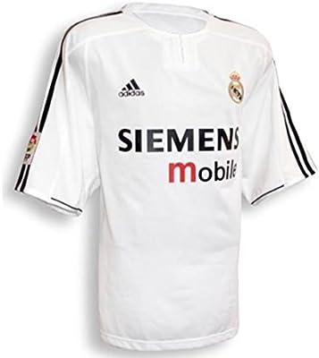 adidas Camiseta Real Madrid Home 2003/2004: Amazon.es: Deportes y aire libre