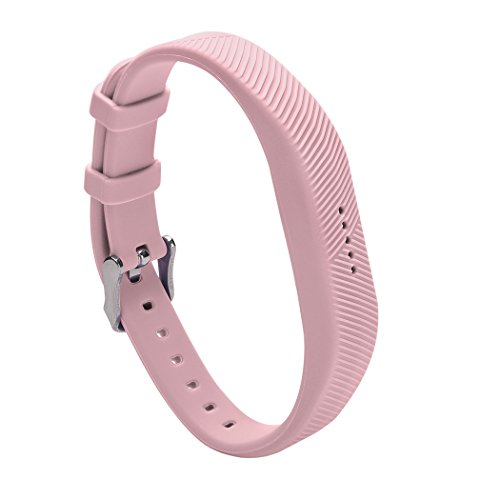 For Fitbit Flex 2 Bands, TreasureMax Replacement Bands with Secure Watch Buckle and Fastener Clasp for Fitbit Flex 2, No Tracker