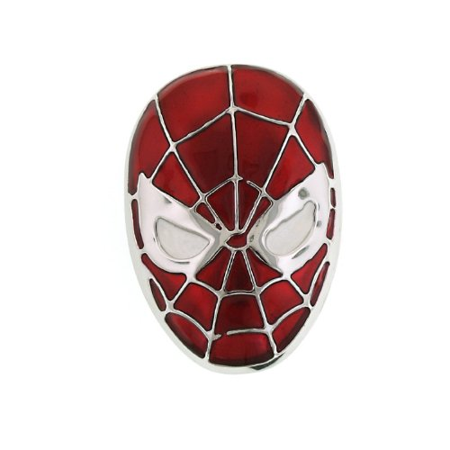 Spiderman Mask 3D Belt Buckle