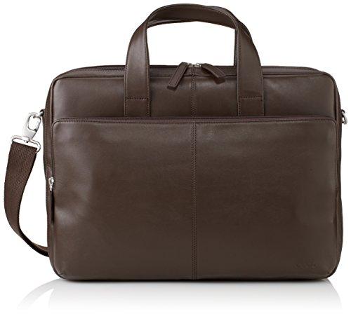 Ecco ECCO Foley, Men's Shoulder Bag, Brown (Braun (90042), 45x33x8 cm (B x H x T)