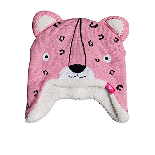 Roxy Leopard Beanie Hdwr Girls Beanie One Size Prism Pink