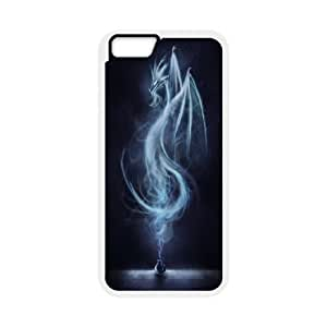 """UNI-BEE PHONE CASE For Apple Iphone 6,4.7"""" screen Cases -Dragon & Beast-CASE-STYLE 8"""