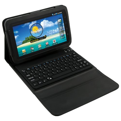 Naztech Book Style Case with Built-In Bluetooth Keyboard for Samsung Galaxy Tab (11022)