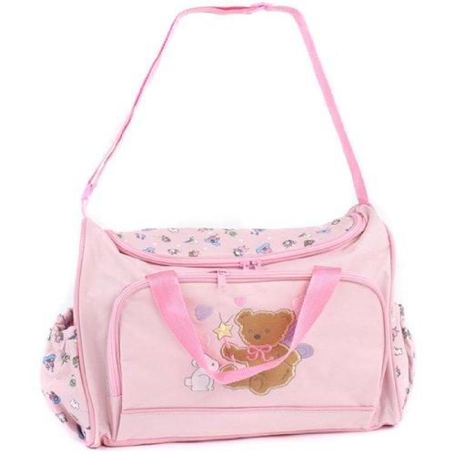 Partiss - Bolso mochila  para mujer azul azul Talla única Rosa