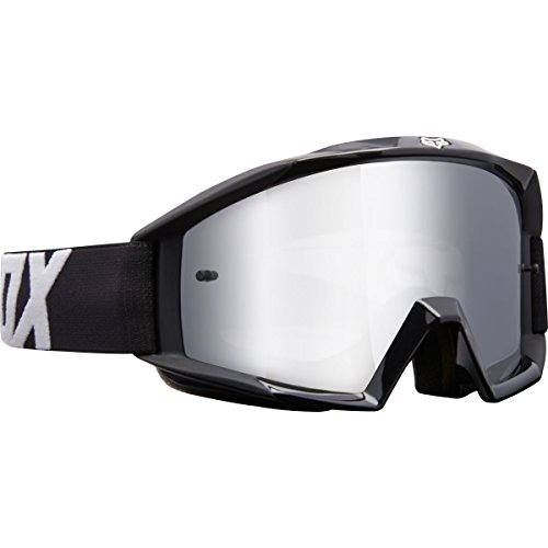 Fox Racing Main Youth Race Youth MX Motorcycle Goggles Eyewear - Black / No (Fox Goggles)
