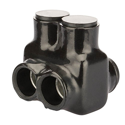 Polaris Insul-Tap Connector, For Two Wires and In-Line Splicer/Reducer, IT Series, 350-6 AWG Wire Range, 5/16'' Hex, 2.50'' Width, 2.44'' Height, 2.47'' Length by Polaris a brand of NSi Industries, LLC (Image #3)