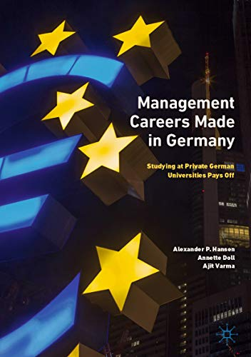 Management Careers Made in Germany: Studying at Private for sale  Delivered anywhere in USA