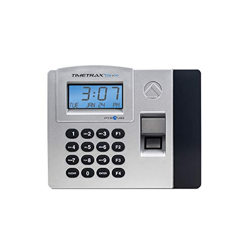 te TTELITEEK Automated Biometric Fingerprint Time Clock System with Software, Windows Compatible - Made in USA ()