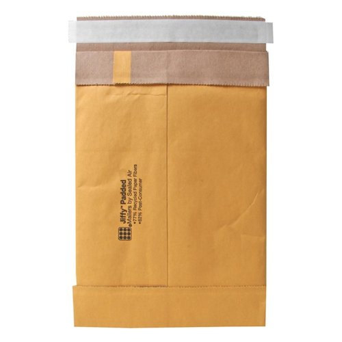 Quality Park Sealed Air Jiffy Padded Mailer, Self Seal, 9.5 x 14.5 Inches, #4, Pack of 100 (SEL85985)