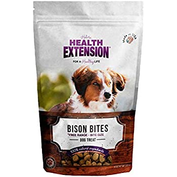 Amazon.com : Health Extension Bully Puffs Dog Treat, Bacon