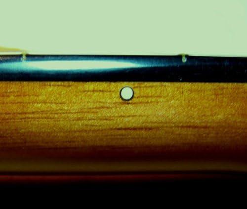 Guitarra clásica Fret marcadores – Rosetón negro/marfil Fret ...