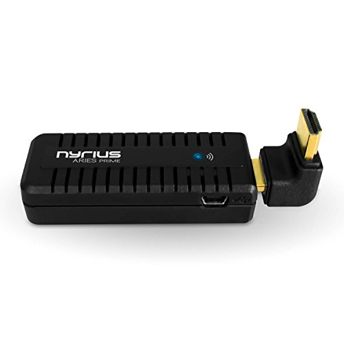 Nyrius ARIES Prime Wireless Video HDMI Transmitter & Receiver for Streaming HD 1080p 3D Video & Digital Audio from Laptop, PC, Cable, Netflix, YouTube, PS4, Xbox One to HDTV/Projector (NPCS549) by Nyrius (Image #2)