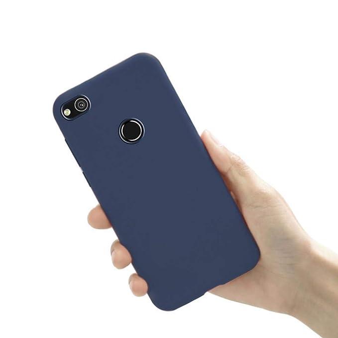 Amazon.com: Funda de silicona para Huawei P8 Lite 2019 P9 ...