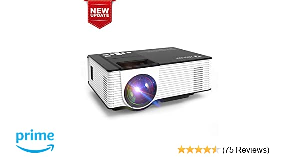 Zeacool Video Projector, Newest Upgrade 2200 Lumens LED Portable Home  Theater Projector with 1080P Support, Compatible with Fire TV Stick, PS4,  Smart