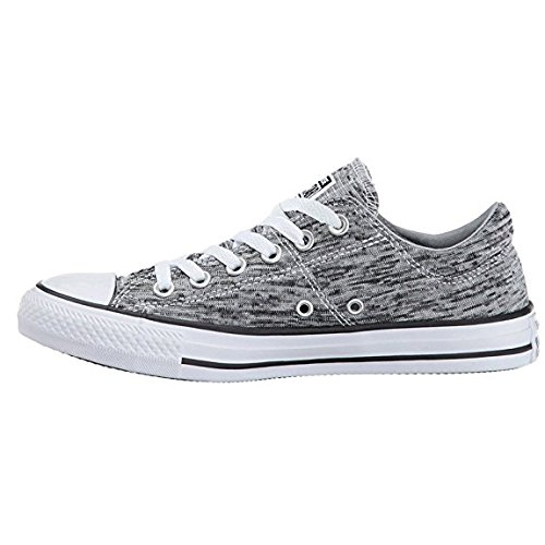 Low Top Converse Sneaker Black White Wolf Grey Women's Leather Madison qxUx1wRvt
