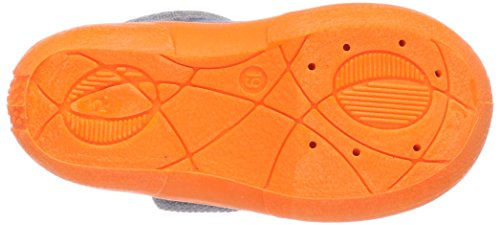 Fischer Mini, Zapatillas de estar Por Casa Para Niños Grau (Grau/Orange)