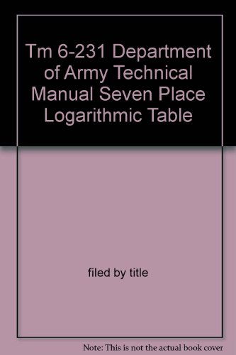 logarithmic tables - 5