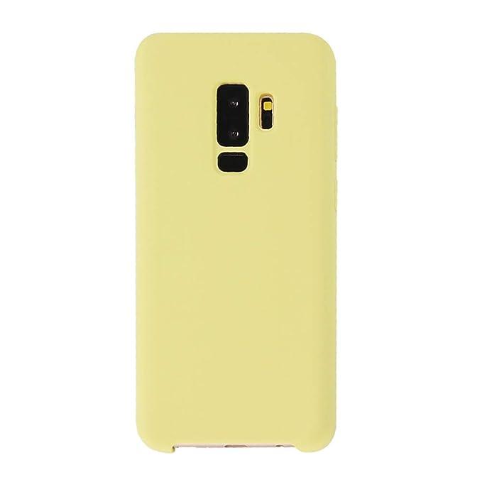 Funda Compatible con Samsung Galaxy S9 / S9 Plus Carcasa Silicona Suave Gel TPU Case Full protección Anti-Golpes Rasguño y Resistente Teléfono Móvil ...