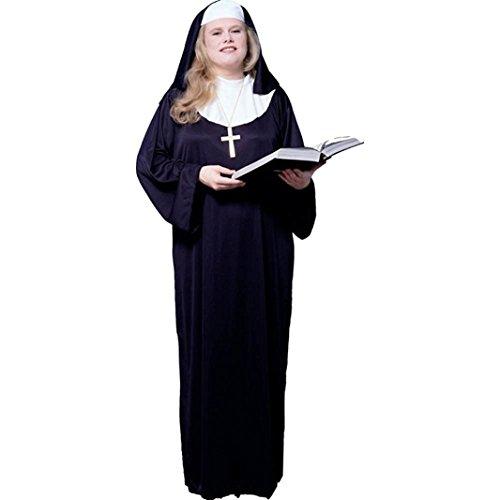 Womens Plus Size Nun Costume