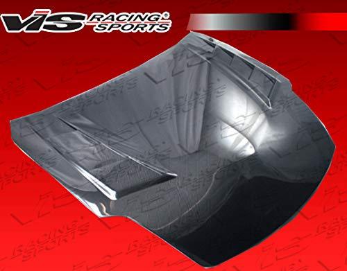 VIS Racing (VIS-JGA-581) Black Carbon Fiber Hood Terminator GT Style for Nissan 350Z 2DR 03-06 ()
